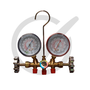 Ct 536g Ac Manifold Gauge Set R410a R134a R22 Refrigerants Charge