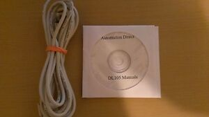 Programming Cable D2 dscbl With Software And Manuals For Automation Direct Dl105