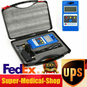 Lcd Gaussmeter Tesla Meter Surface Magnetic Field Tester With Ns Function Wt10a