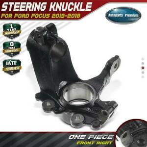 Steering Knuckle For Ford Focus 1 0l 2 0l Electric 13 18 Front Right Cv6z3k185c