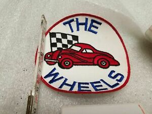 Vintage Car Club Patch 1950 S Jacket Hot Rat Rod Muscle Car 1957 Chevy Auto Orig