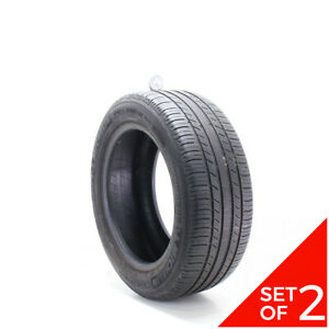Set Of 2 Used 235 55r17 Michelin Premier As 99h 6 7 32