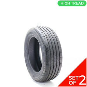 Set Of 2 Used 235 55r17 Michelin Defender T H 99h 10 10 5 32