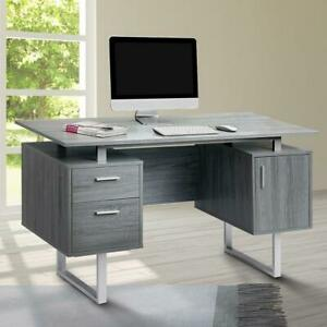 Modern Office Desk With Storage