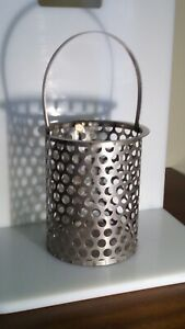 Perforated Stainless Steel Strainer Basket Hayward Bs703001 2