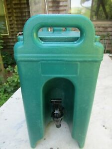 Cambro 250l 2 5 Gallon Commercial Insulated Portable Beverage Container Dk Green