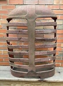 Vintage Massey Harris 44 Row Crop Tractor L Grille Assembly L 1950 s