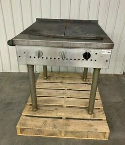 South Bend 24 Commercial Flat Top Grill Range 362 0 Counter Top