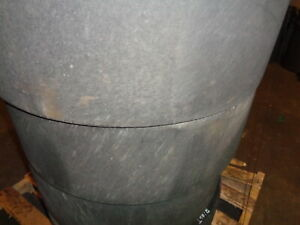 4 Used Summit Solid Smooth Skid Steer Tires 10x16 5 with Rims Free Shipping