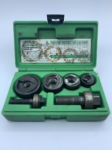 Greenlee Slug buster Knockout Punch Set 7235bb Used Tt296