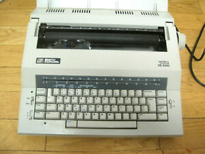 Smith Corona Xe 5100 Electric Portable Smart Spell Right Typewriter Cover