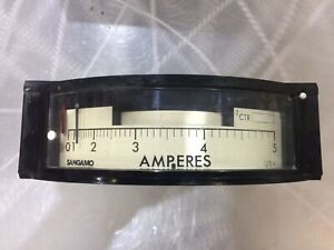 981851 107 Sangamo Adf 7 Ampere Demand Meter 5 Amps Free Shipping