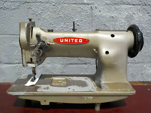 Industrial Sewing Machine Model United 111w155 Single Walking Foot Leather