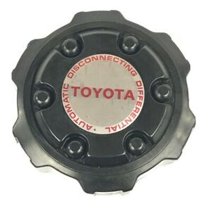 Toyota 4runner T100 Pickup 15 Alloy Wheel Black Center Cap Cover Hubcap Oem