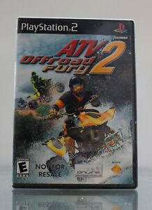 ATV OFFROAD FURY 2 PlayStation 2 PS2 Not For Resale Complete - Tested
