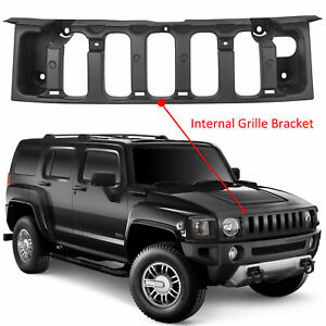 Front Black Grille Bracket For 2006 10 09 Hummer H3 H3t Replacement For 15834198