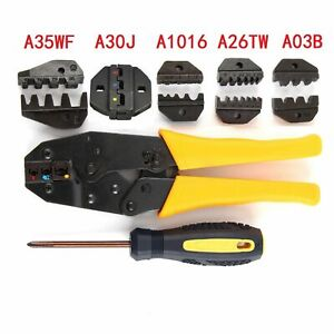 Hight Quality Insulated Terminal Ratchet Crimping Wire Crimper Plier Tool Kit