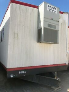 Used 2013 24 X 60 Doublewide Office Trailer S 5488 A b Houston Tx