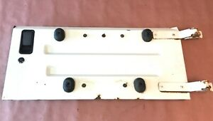 Jeep Yj Tj Wrangler Tailgate Fits 87 02 Wrangler Working Handle White Hinges