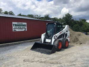 2017 Bobcat S590 Skid Steer Loader W Cab Joystick Controls Nice Machine