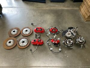 2016 2019 Mustang Gt350r Brembo Brake Kit Front Rear Oem