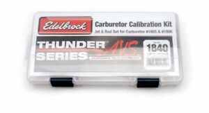 Edelbrock 1840 Thunder Avs 1805 1806 Calibration Tuning Kit