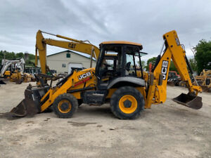 2013 Jcb 3cx 4x4 Tractor Loader Backhoe W Cab Extend a hoe Pilot Only 1300hrs