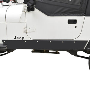 Paramount Rock Sliders Rock Guards Armor Fit For 87 95 Jeep Wrangler Yj
