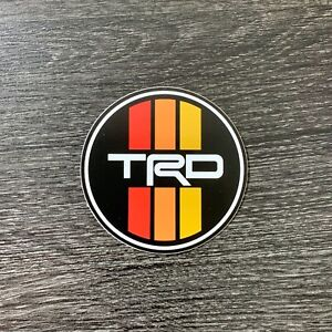 Vintage Toyota Trd Racing Stripes Sticker Tacoma Tundra Decal 4runner 4wd Hilux