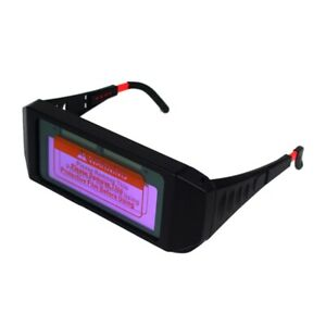 2x automatic Photoelectric Welding Glasses Solar Powered Auto Darkening Wel T6a1