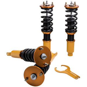 Full Set Coilover Struts Shock Absorbers Suspension For Honda Accord 1990 97