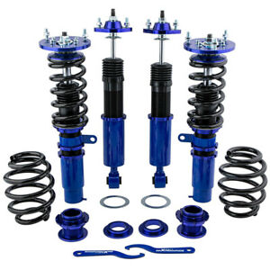 Coilovers Suspension Set For Bmw E46 3 Series Coilover Adj Height Strut Shocks