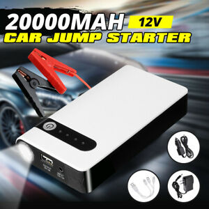 Car Jump Starter Booster 12v 20000mah Auto Jumper Battery Usb Power Bank Charger