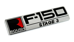 2004 2008 Ford F 150 Roush Stage 3 Fender Tailgate Chrome Plated 8 Emblem