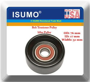 Oe Spec 38006 Belt Tensioner Pulley Idler Pulley Fits Gm Ford Acura Isuzu Jeep
