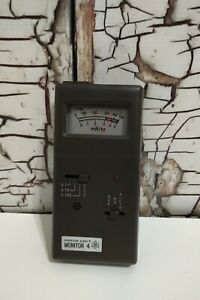 Vintage Se International Radiation Alert Monitor 4 Working Condition With Case