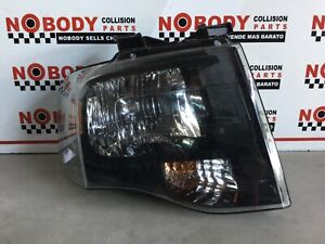 2007 2014 Ford Expedition Right Headlight Halogen All Tabs Intact Oem