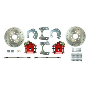 Ford 8 8 Rear End W 5 lug Axles Street Series Rear Disc Brake Conversion Kit