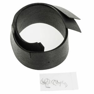 Inner Front Fender Seal For 1962 1967 Chevy Ii Nova 2 Doors Sold As A Pair