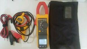 Used Fluke 381 True rms Ac dc Clamp Meter With Iflex More Tp 239650