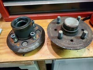1974 Bmw 2002 Tii Front Hubs pair Of 2