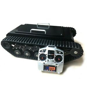 Tr500 Tracked Robot Chassis Tankshock Absorption Load 50kg With Control Kit Tzt