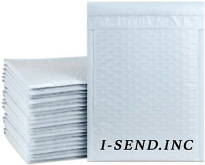 9 5x14 5 White Color Poly Bubble Envelopes Mailers Bags Padded Free Shipping