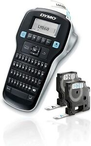 Dymo Label Maker With 2 D1 Dymo Label Tapes Labelmanager 160 Portable Label