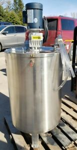 Mix Tank Stainless Steel 52 Gallon Brand New