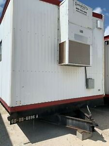 Used 2008 24 X 60 Doublewide Office Trailer S 6896 A b Houston Tx