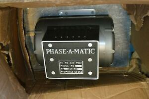 Phase a matic 5 Hp Phase Converter 208 240v Rotary