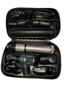 Welch Allyn Macroview Otoscope Ophthalmoscope Plugin Handle Diagnostic Set