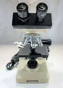 Olympus Chk Compound Microscope With Case