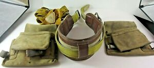 Miller Style 6806 Lineman s Utility Belt Medium With Accessories Ansi A10 14